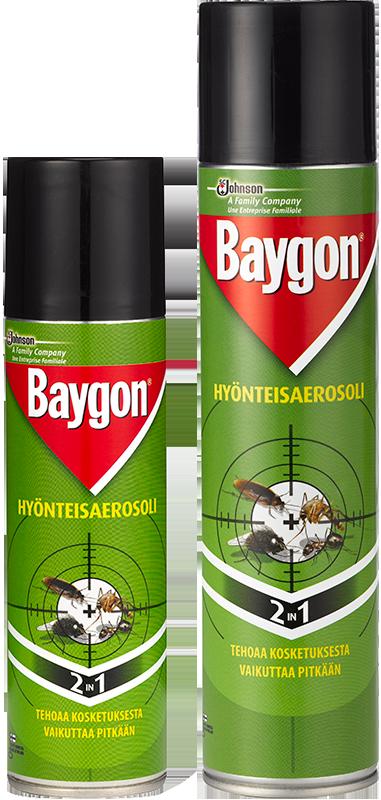 Hyönteisaerosoli Baygon