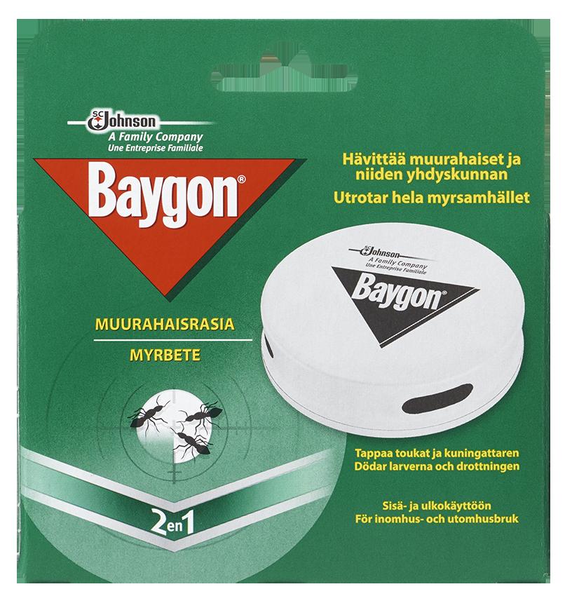 Muurahaisrasia Baygon